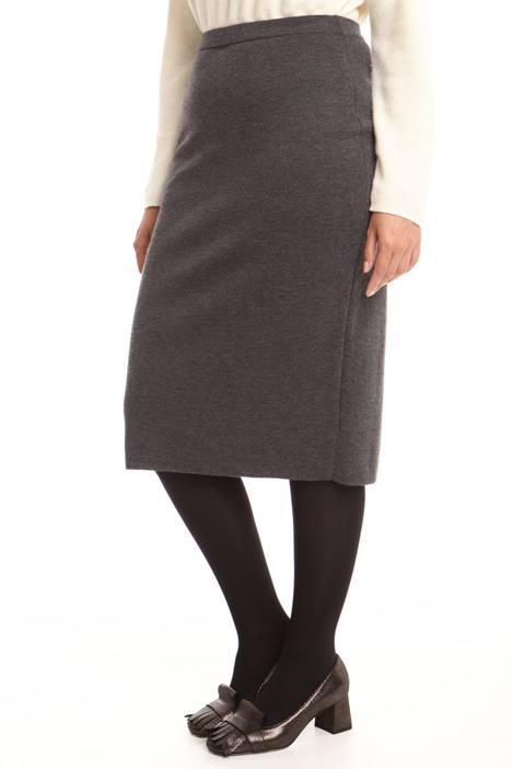 Knitted midi skirt Diffusione Tessile