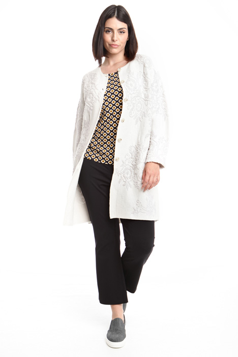 Knitted coat Diffusione Tessile