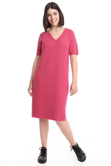 Wide knitted dress Diffusione Tessile