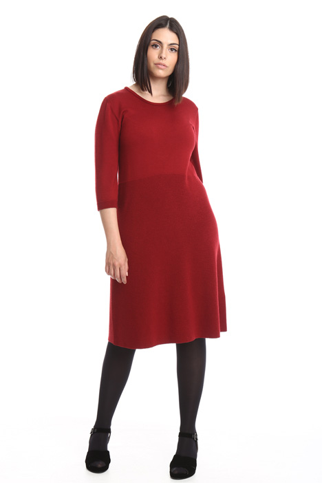 Knitted pure wool dress Diffusione Tessile