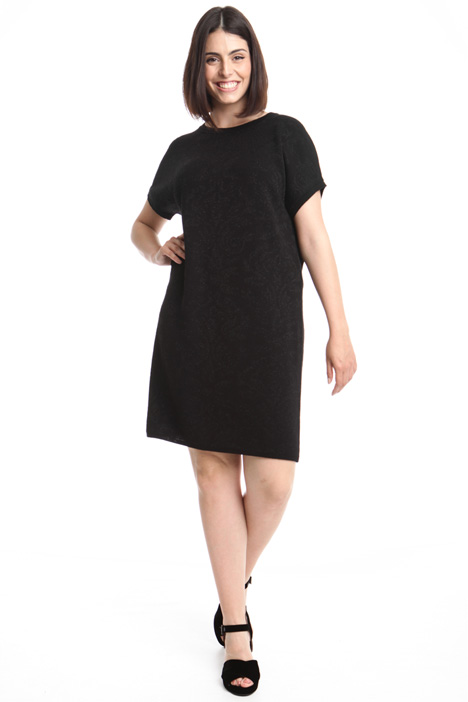 Jacquard wool dress Diffusione Tessile