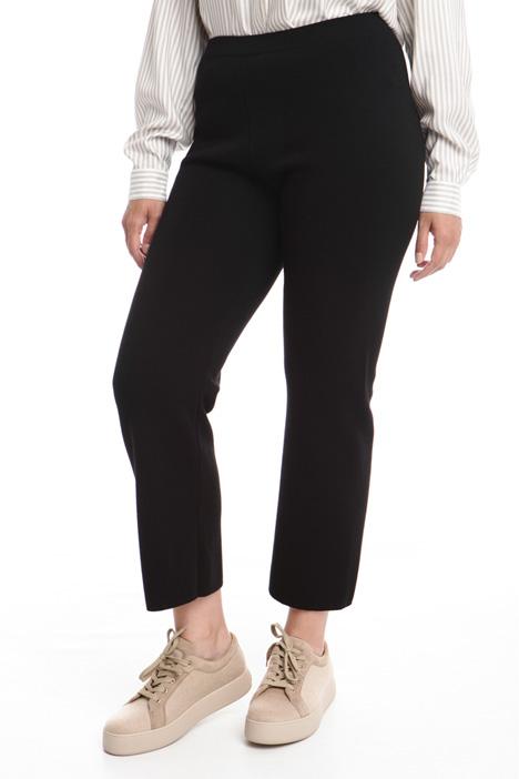 Pantalone ampio in lana Diffusione Tessile