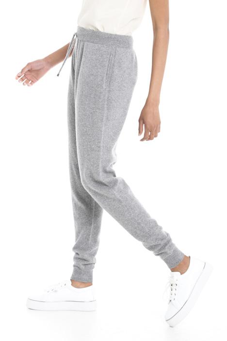 Pantaloni in puro cashmere Diffusione Tessile