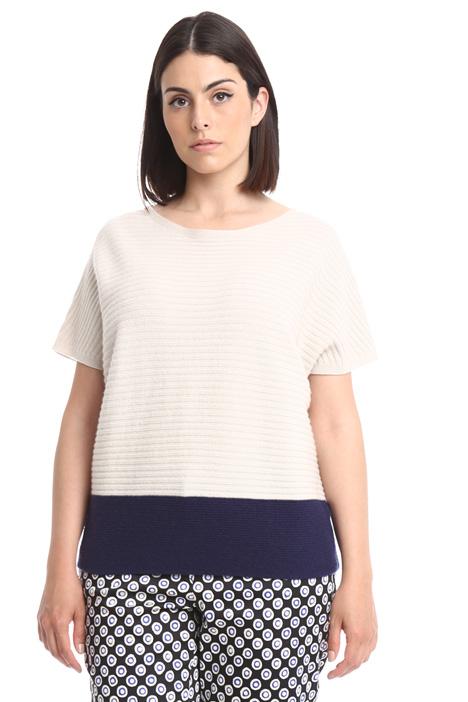 Kimono sleeve sweater Diffusione Tessile