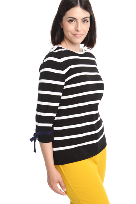 Striped wool sweater Diffusione Tessile