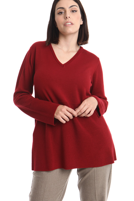 Flared wool sweater Intrend