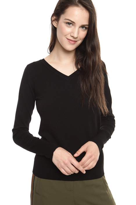 V-neck sweater Diffusione Tessile