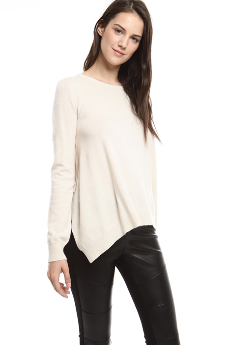 Asymmetric hem sweater Intrend