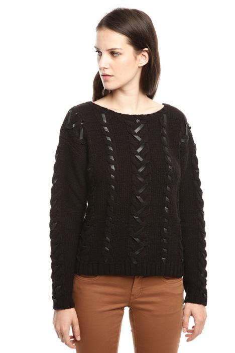 Braid knit sweater Diffusione Tessile