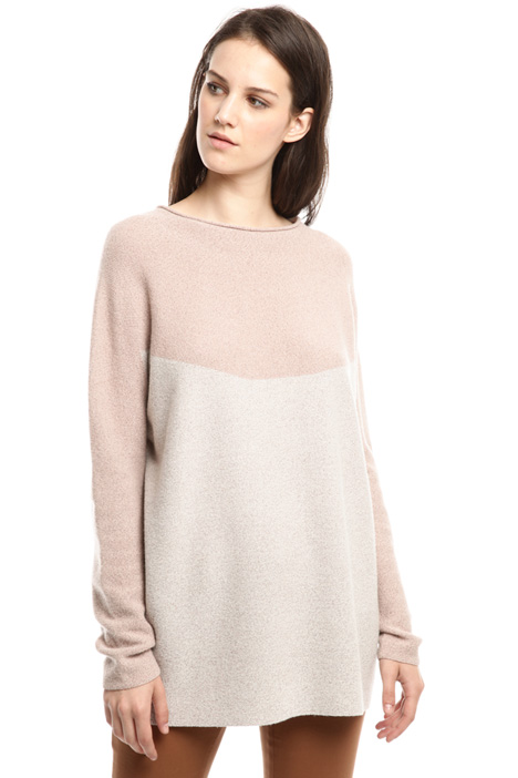Links knit sweater Diffusione Tessile