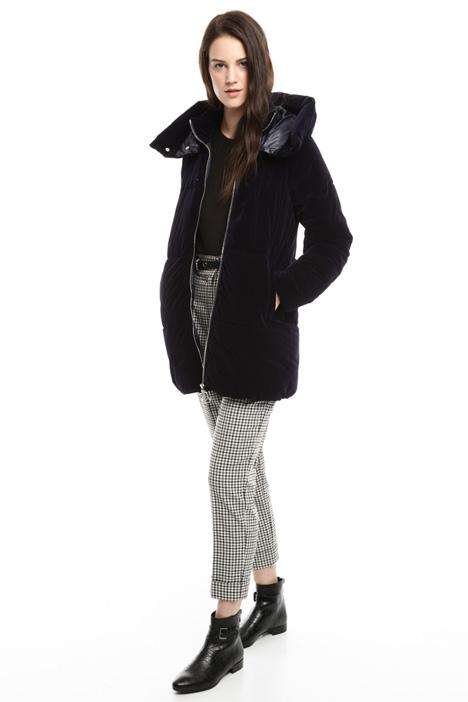 Velvet padded jacket Diffusione Tessile