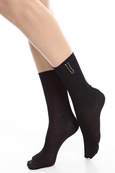 Bijou embroidered socks Diffusione Tessile