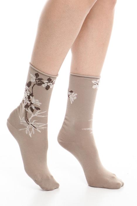 Cotton jacquard socks Diffusione Tessile
