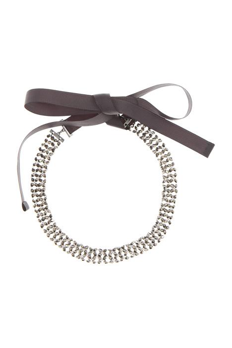 Collana con perline di vetro Diffusione Tessile