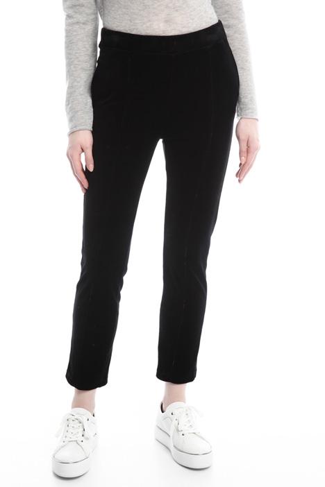 Pantaloni in ciniglia Diffusione Tessile
