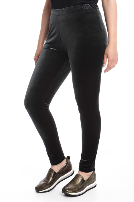 Leggings  in velluto Diffusione Tessile