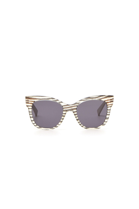 Two-material sunglasses Intrend