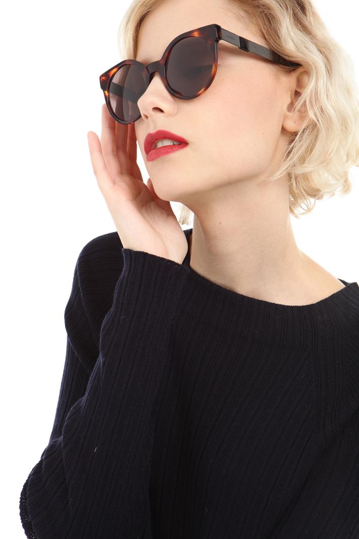 Occhiali cat-eye Diffusione Tessile