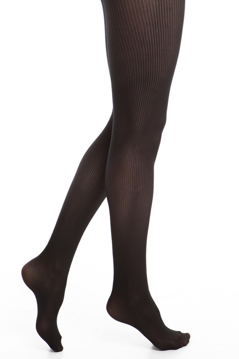 Microfibre tights with stripes Diffusione Tessile
