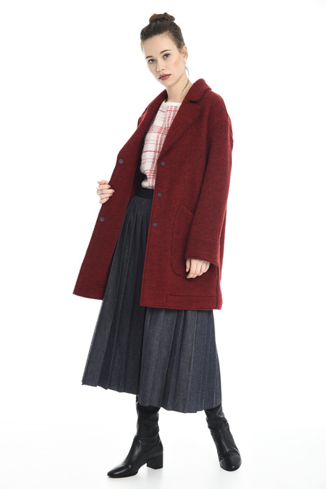 Oversized felted wool coat Diffusione Tessile