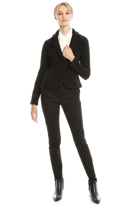Knitted-effect blazer Diffusione Tessile
