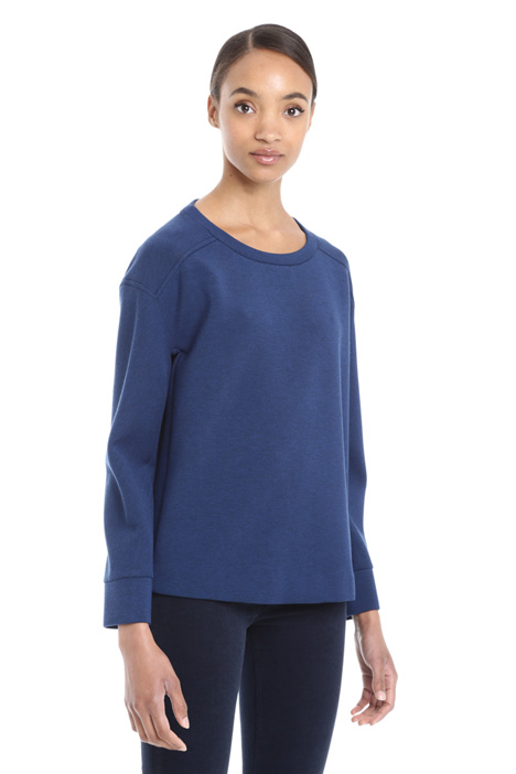 Jersey compact sweatshirt Diffusione Tessile