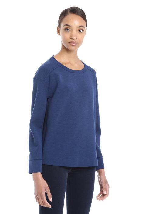 Jersey compact sweatshirt Intrend