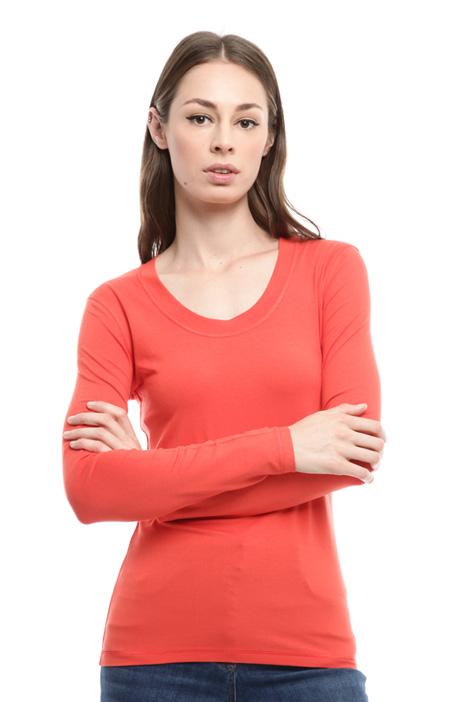 T-shirt con scollo rotondo Diffusione Tessile