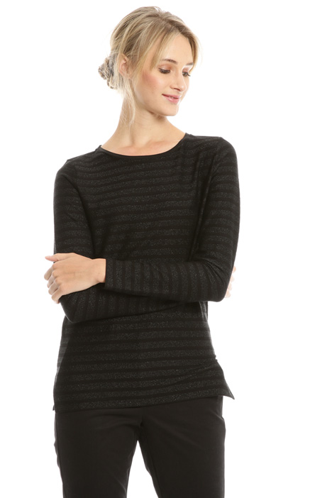 T-shirt in jersey lurex Diffusione Tessile