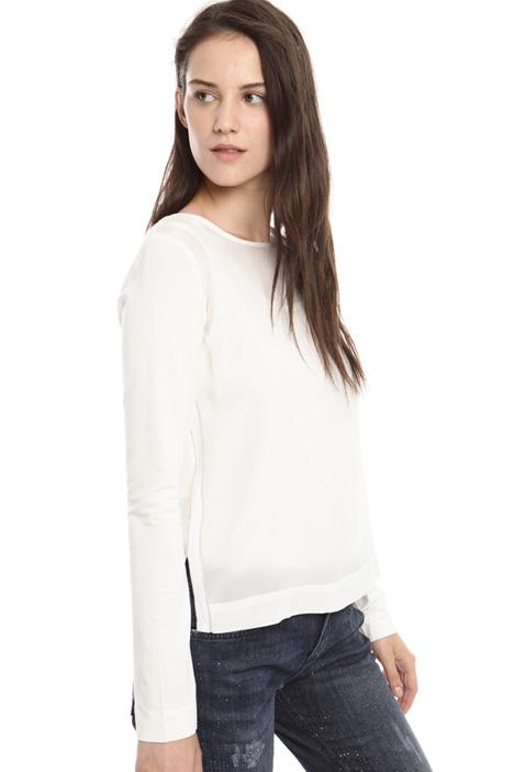 T-shirt in jersey e crepe Diffusione Tessile
