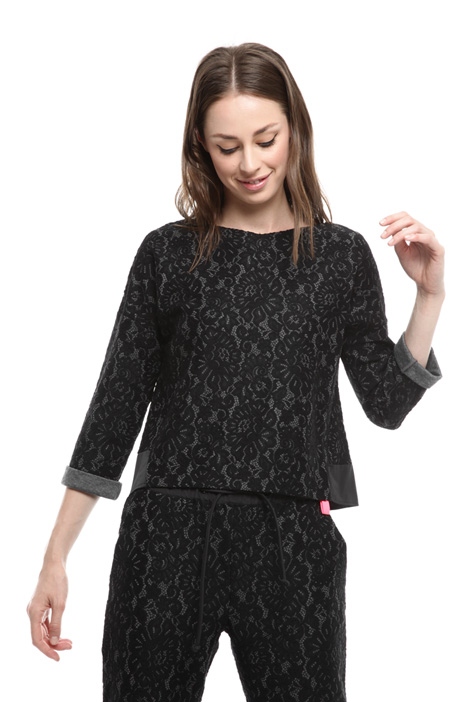 Bonded lace blouse Diffusione Tessile