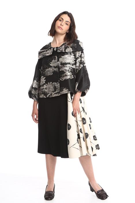 Short jacquard jacket Diffusione Tessile
