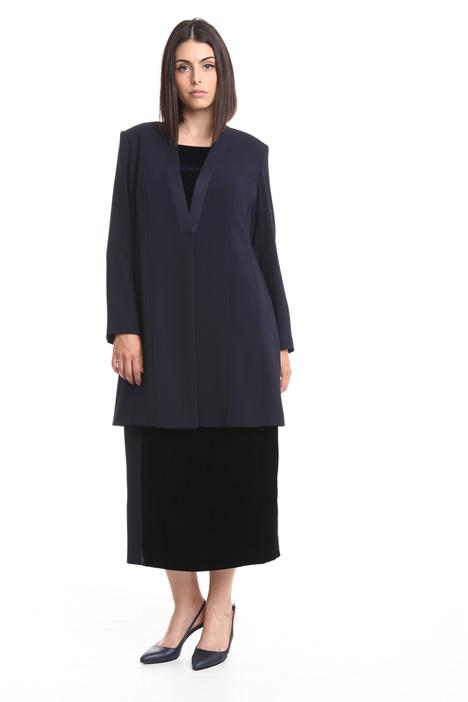 Fluid crepe jacket Diffusione Tessile