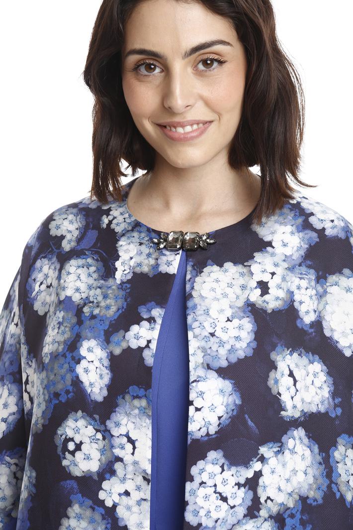 Silk crepe jacket Diffusione Tessile