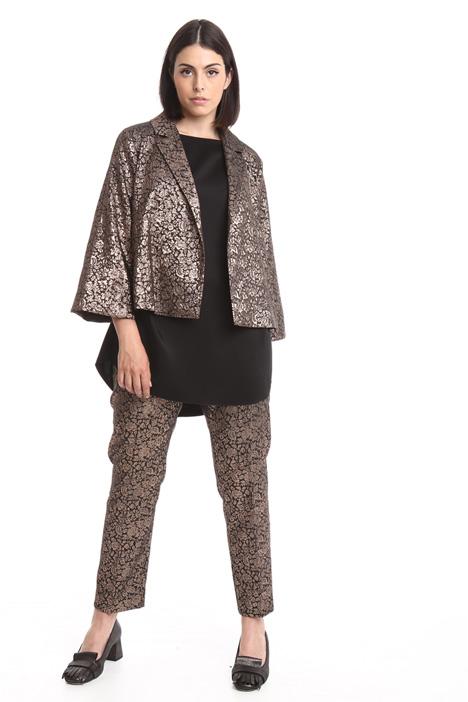 Lurex jacquard jacket Diffusione Tessile