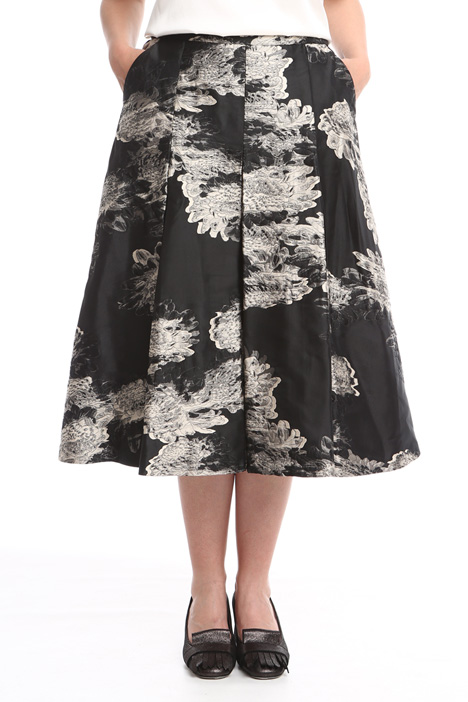 Jacquard midi skirt Intrend