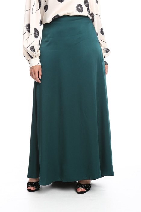 Long glossy skirt Intrend