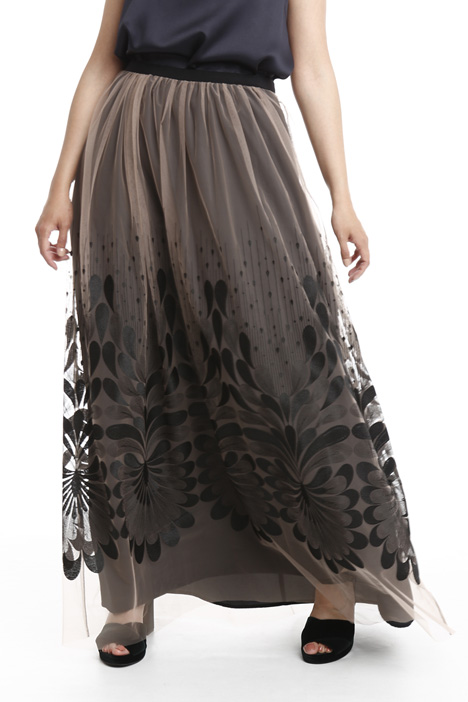 Embroidered skirt in tulle Diffusione Tessile