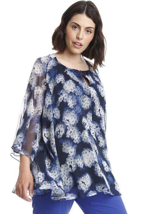 Silk chiffon blouse Diffusione Tessile