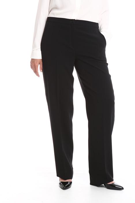 Pantalone in cady linea dritta Diffusione Tessile