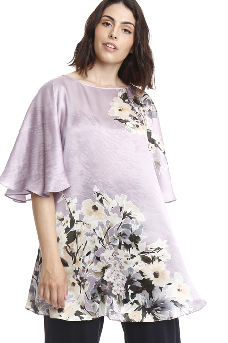 Oversized silk tunic Intrend