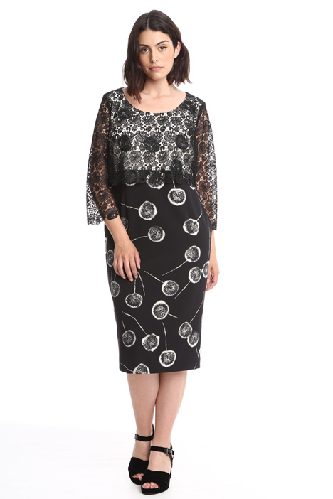Cady and lace dress Diffusione Tessile
