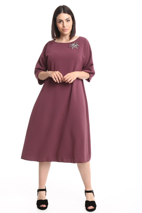 Oversized dress with pockets Diffusione Tessile