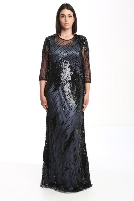 Embroidered tulle dress Diffusione Tessile