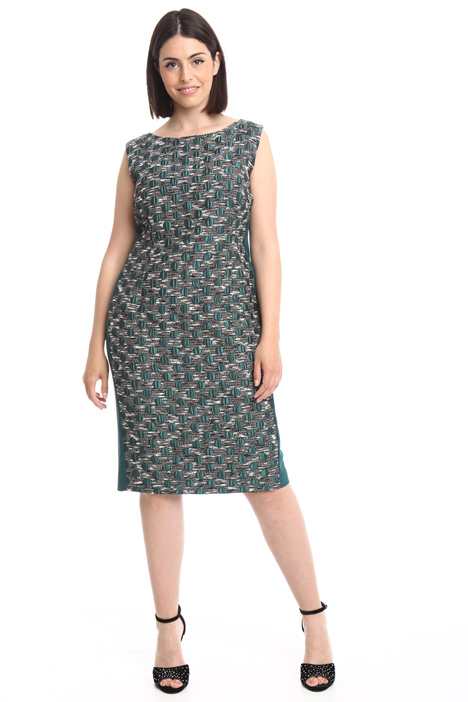 Jacquard sheath dress Intrend