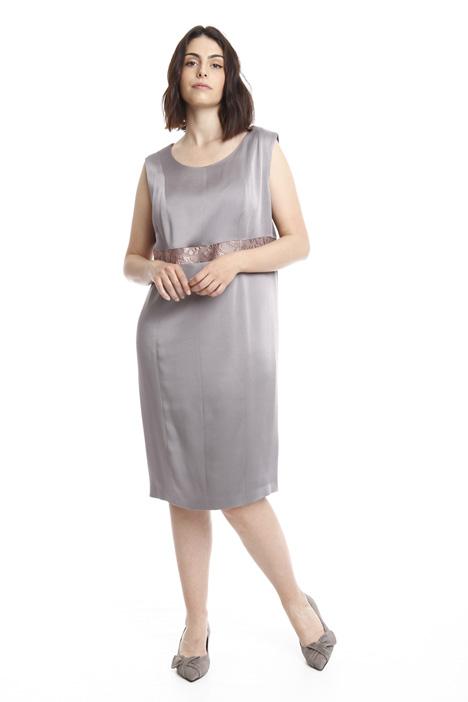 Glossy crepe dress Diffusione Tessile