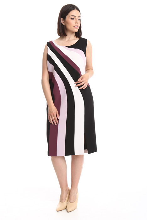 Multi-colored cady dress Intrend