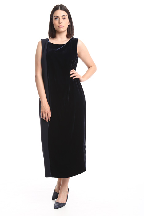 Long velvet dress Diffusione Tessile