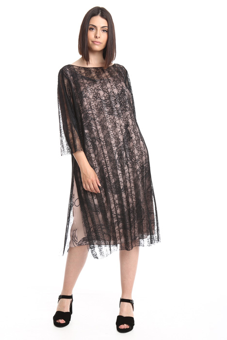 Lined lace dress Diffusione Tessile