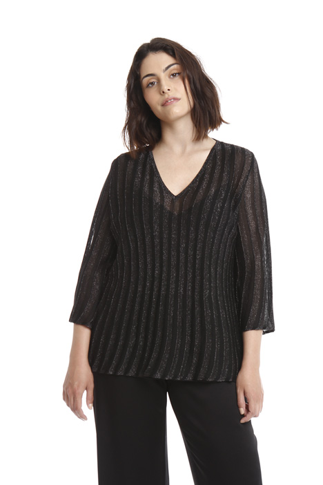 Ribbed lurex sweater Intrend